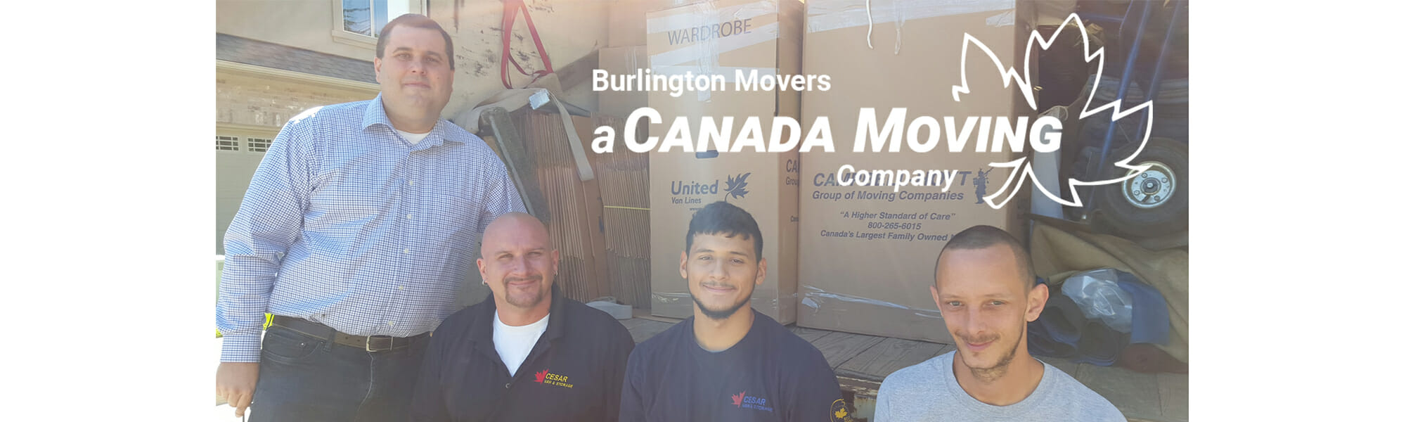 Chris Campbell and Moving Crew - Burlington Movers (A Canada Moving Company)