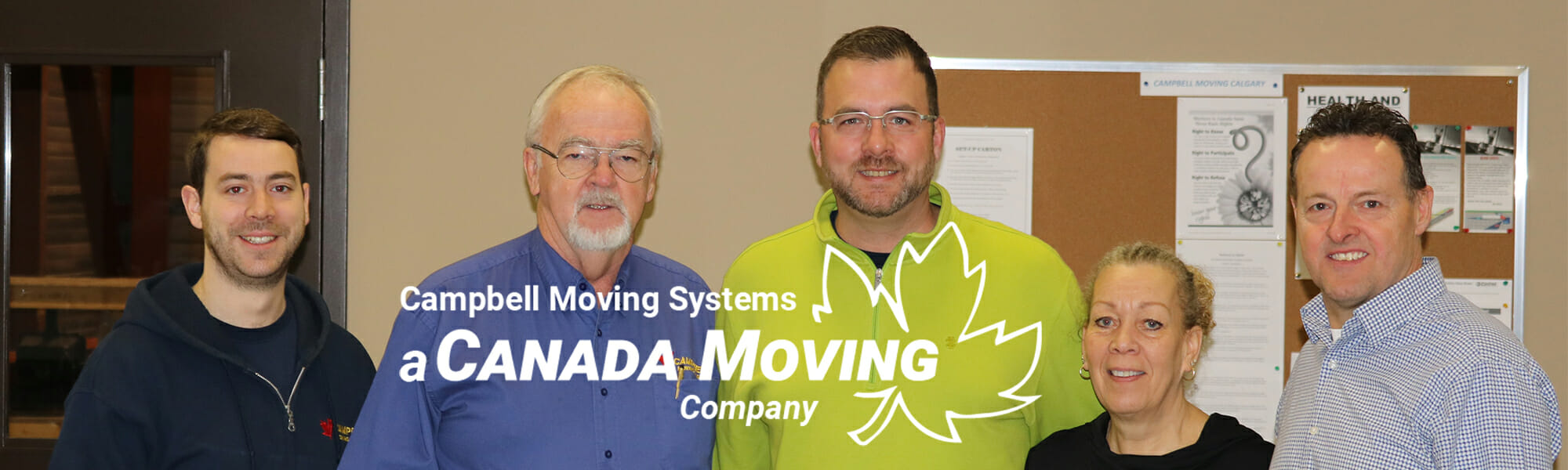 Cindy Clarke Campbell Moving System Crew - (A Canada Moving Company)
